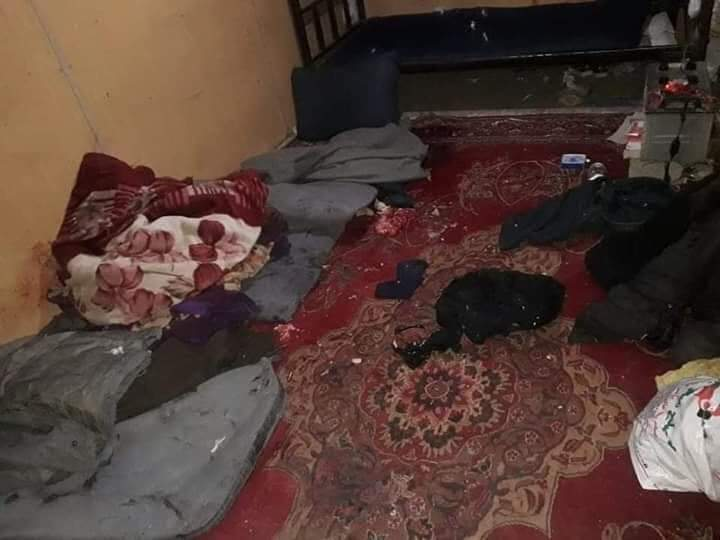 سفره افطار خونین 2 - تصویر/ سفره خونین افطار نیروهای امنیتی در ماه رحمت الهی