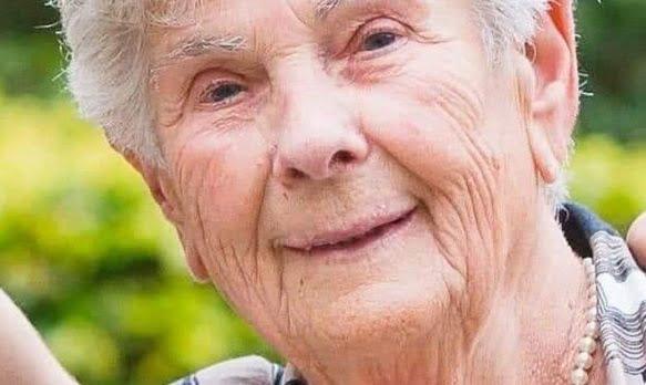 سوزان هولارتس - تصویر/ فداکاری پیرزن ۹۰ ساله مبتلا به کرونا