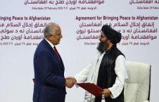طالبان امریکا 226x145 - دالرهای خارجی ها و نقش پررنگ طالبان در تحولات آینده افغانستان