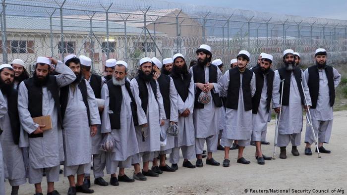 طالبان زندانی