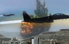 طیاره جنگی 226x145 - حمله هوایی ایتلاف سعودی بالای یک مرکز قرنطینه در یمن