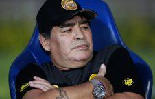 مارادونا 226x145 - حمایت اسطوره آرجنتاینی فوتبال جهان از رونالدینیو
