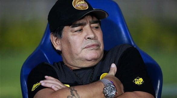 مارادونا - حمایت اسطوره آرجنتاینی فوتبال جهان از رونالدینیو