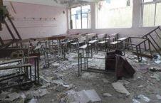 مکتب 226x145 - تخریب صدها مکتب در یمن بر اثر حملات ایتلاف سعودی