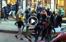 ویدیو درگیری ترکیه لقمه نان 226x145 - ویدیو/ درگیری مردم ترکیه بر سر یک لقمه نان!