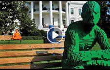 ویدیو مجسمه عجیب زاویه محو 226x145 - ویدیو/ مجسمه های عجیبی که با تغییر زاویه محو می شوند