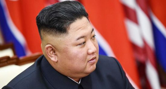 کیم جونگ اون 550x295 - گمانه زنی های رسانهها از محل بود و باش رهبر کوریای شمالی