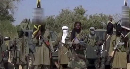 بوکوحرام 1 550x295 - جنایت تروریستهای بوکوحرام علیه باشنده گان یک قریه در نایجیریا