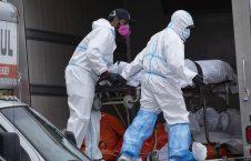 جسد کرونا لاری 8 226x145 - تصاویر/ نگهداری اجساد قربانیان کرونا در لاری!