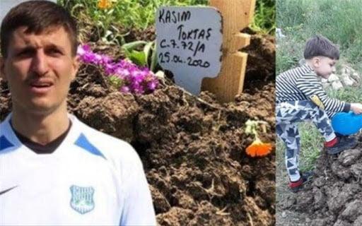 جوهر توکتاش - فوتبالیست ترکیهای فرزندش را بهخاطر ابتلا به کرونا کُشت!