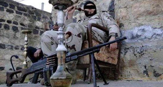 داعشی 550x295 - استعمال نوع خاصی از مواد مخدر توسط تروریست های داعشی در عراق