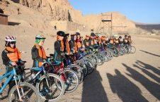 دختر بامیان بایسکل رانی 1 226x145 - تصاویر/ دختران ورزشکار بامیانی در قرنطین