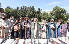 طالبان مسلح بغلان 3 226x145 - تصاویر/ شماری از طالبان مسلح در بغلان به روند صلح پیوستند