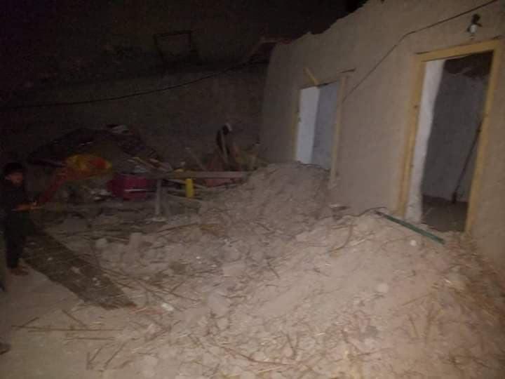 طوفان ننگرهار 3 - تصاویر/ خسارات برجای مانده از طوفان های شدید در ننگرهار