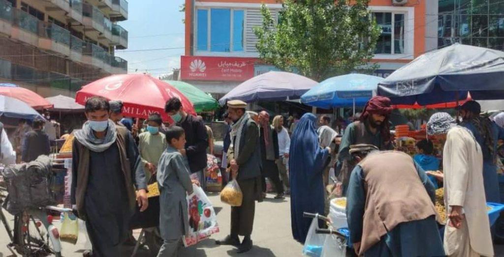 عید کابل 1 1024x522 - تصاویر/ حضور گسترده مردم برای خرید عید در کابل