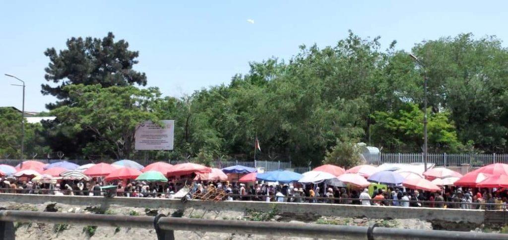 عید کابل 3 1024x484 - تصاویر/ حضور گسترده مردم برای خرید عید در کابل