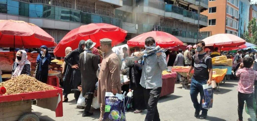عید کابل 4 1024x484 - تصاویر/ حضور گسترده مردم برای خرید عید در کابل