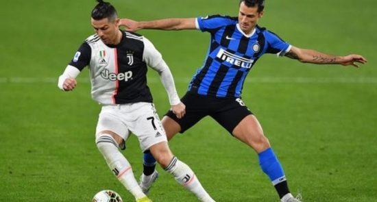 فوتبال سری A ایتالیا 1 550x295 - تعلیق آغاز مجدد رقابتهای فوتبال سری A ایتالیا