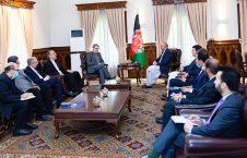 محمد حنیف اتمر ایران 226x145 - هیئت عالیرتبه دپلوماتیک ایران برای پیگیری حادثه ۱۳ ثور به افغانستان سفر کرد