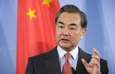 وانگ یی 226x145 - درخواست وزیر امور خارجه چین از ایالات متحده امریکا
