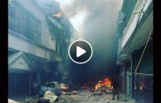 ویدیو تصاویر سقوط طیاره پاکستان 226x145 - ویدیو/ تصاویر اولیه از سقوط طیاره پاکستانی
