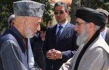 کرزی حکمتیار 226x145 - انتقاد کرزی از عدم حضور حکمتیار در مراسم امضای توافقنامه میان غنی و عبدالله