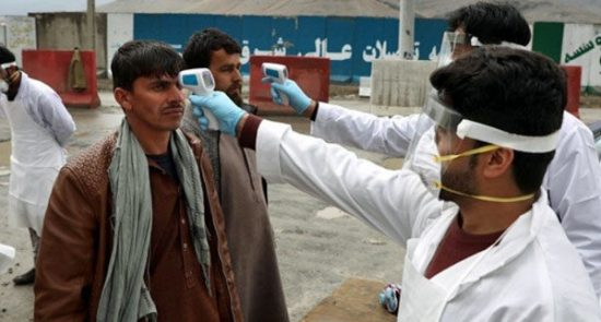 کرونا 550x295 - آخرین آمار کرونا در افغانستان؛ شمار مبتلایان به ۳۰ هزار و ۶۱۶ تن افزایش یافت