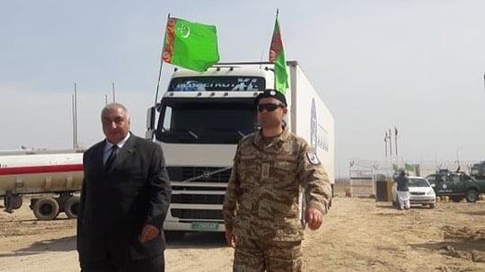 کمکهای بشردوستانه ترکمنستان 1 - تصاویر/ کمکهای بشردوستانه ترکمنستان به افغانستان