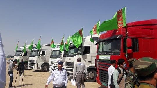 کمکهای بشردوستانه ترکمنستان 3 - تصاویر/ کمکهای بشردوستانه ترکمنستان به افغانستان