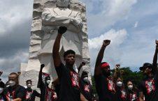 اعتراضات نژادپرستی امریکا 4 226x145 - تصاویر/ تداوم اعتراضات به نژادپرستی در ایالات متحده امریکا