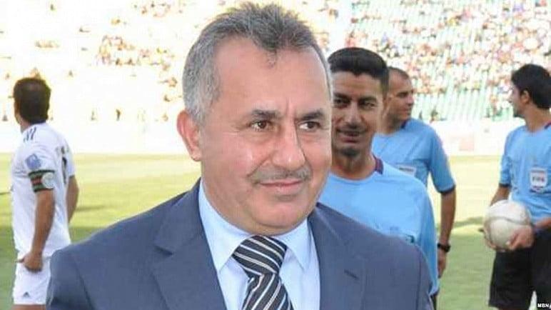 ایاد بنیان - ابتلای رییس فدراسیون فوتبال عراق به ویروس کرونا