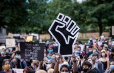 تظاهرات ضد نژادپرستی 10 226x145 - تصویر/ تداوم تظاهرات ضد نژادپرستی در ایالات متحده امریکا