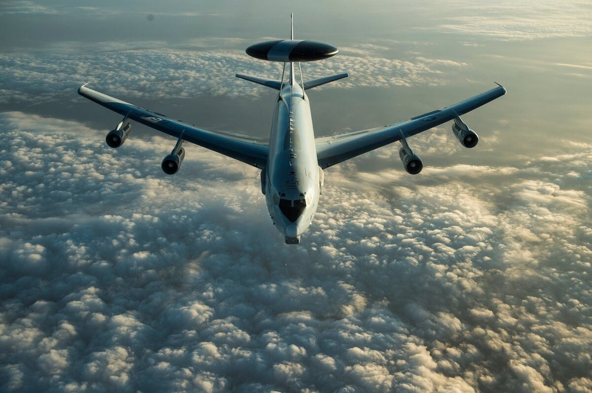 طیاره E ۸C - نقض حریم هوایی کوریای شمالی توسط طیاره جاسوسی امریکا