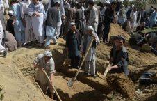 قبر 226x145 - گسترش وحشتناک کرونا و افزایش کار گورکنها در کابل