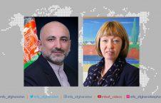 محمد حنیف اتمر الیسون بلیک 226x145 - گفتگوی تلیفونی سرپرست وزارت امور خارجه با سفیر بریتانیا مقیم کابل