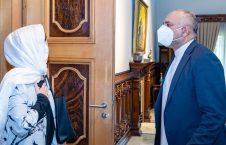 محمد حنیف اتمر دبورا لیونز 1 226x145 - تصاویر/ دیدار سرپرست وزارت امور خارجه با فرستاده خاص سازمان ملل متحد برای افغانستان