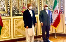 محمد حنیف اتمر محمد جواد ظریف 226x145 - دیدار سرپرست وزارت امور خارجه با همتای ایرانی اش
