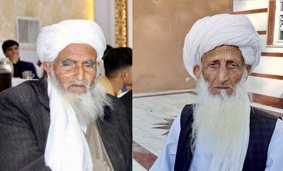 پیرمرد هرات - تصویر/ شکست کرونا برابر دو پیرمرد هراتی!