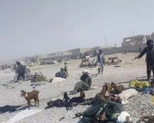 کشتار هلمند - تصویر/ کشتار افراد ملکی در ولسوالی سنگین هلمند