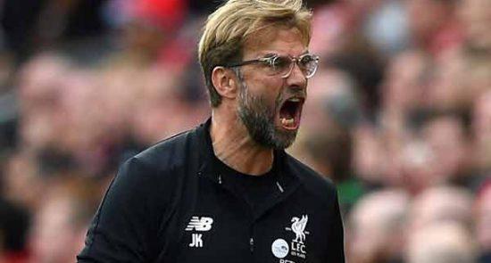 یورگن کلوپ 550x295 - انتقاد سرمربی تیم فوتبال لیورپول از مقامات بریتانیا