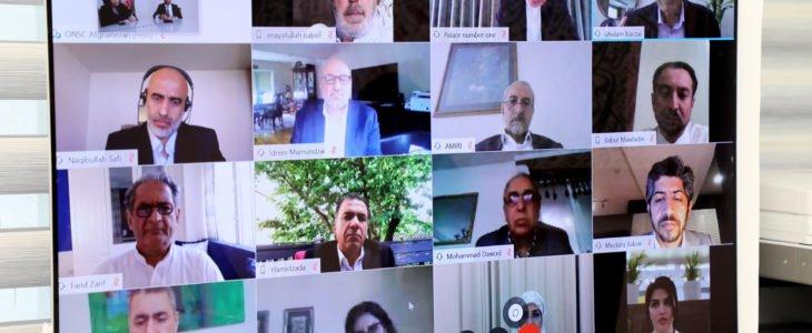 اشرف غنی افغان مقیم خارج - بررسی راههای توسعه افغانستان در گفتگوی رییس جمهور با افغان های مقیم خارج