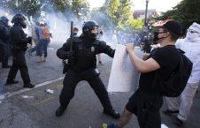 امریکا مظاهره 226x145 - اعلامیه دفتر حقوق بشر سازمان ملل در پیوند به سرکوب مظاهره کننده گان در امریکا