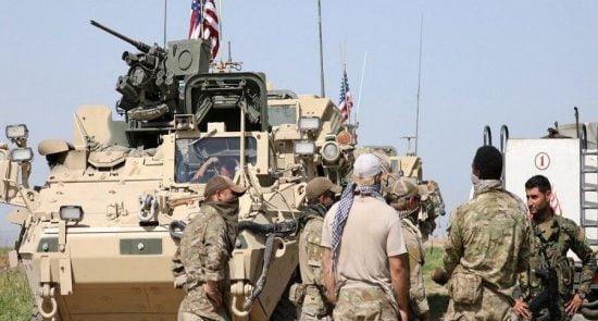 امریکا کاروان 550x295 - حمله مسلحانه بالای کاروان نظامیان امریکایی در عراق