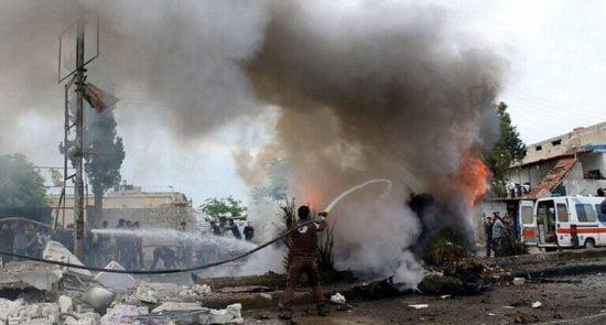 انفجار سوریه 550x295 - وقوع دو انفجار در پایتخت سوریه