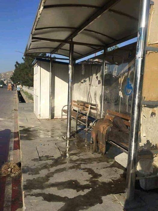 ایستگاه ملی بس - تصویر/ استراحت گاه معتادین مواد مخدر