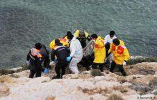 جسد پناهجو 226x145 - پیکر بی جان یک پناهجو پس از دو هفته از بحر بیرون آمد