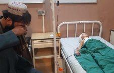 زخمی لوگر 226x145 - تصویر/ جنایتی دیگر از طالبان در لوگر