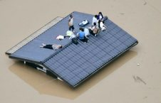 سیل جاپان 226x145 - جاری شدن سیلاب های مرگبار در جنوب جاپان