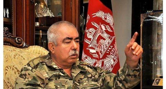 عبدالرشید دوستم 1 550x295 - توصیه مارشال دوستم به اردوی ملی و نیروهای امنیتی افغانستان