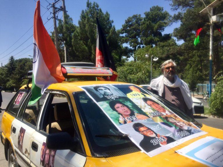عبدالستار امیتاب بچن - اقدام عجیب مرد هراتی برای دیدار امیتاب بچن! + تصویر